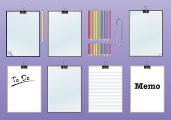 Stationary - vector gratuit #151807