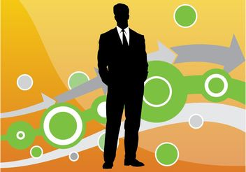 Businessman Vector - Free vector #151867