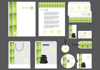 Spa Profile Template Vector - vector gratuit #151887