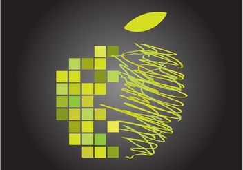 Apple Graphics - бесплатный vector #152547