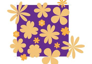 Flowers Vector Footage - Free vector #152737