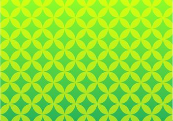 Green Retro Pattern - Kostenloses vector #152757