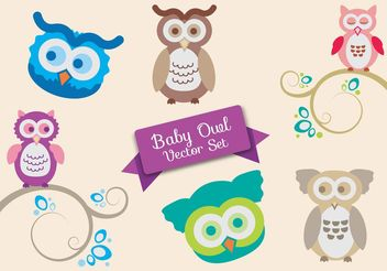 Baby Shower Vector Set - Kostenloses vector #153247