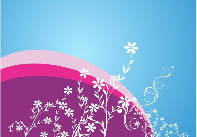Flowers Decoration - Free vector #153277