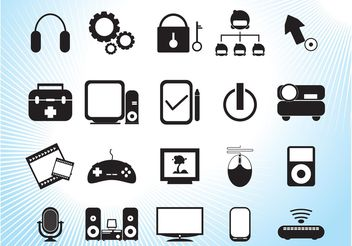 Modern Technology - Free vector #153577