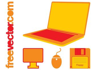 Office Tech Icons - Free vector #153587