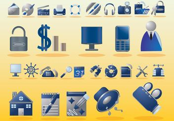 Free Computer Icons - vector #153597 gratis