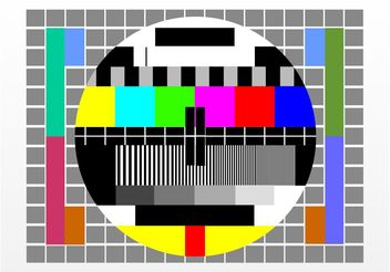 No Signal TV - vector gratuit #154287