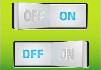 On-Off Switch - vector #154337 gratis