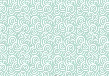 Abstract Swirly Pattern Vector - vector gratuit #154457