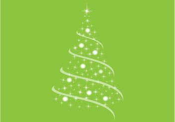 Christmas Tree Design - vector gratuit #154477