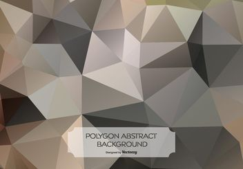 Abstract Polygon Style Background - vector #154497 gratis