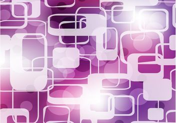 Abstract Purple Shapes Background - vector gratuit #154907