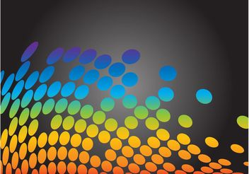 Abstract Rainbow Vector - Free vector #154917