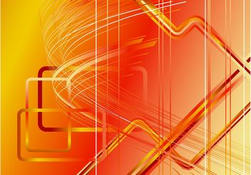 Orange Background Template - Kostenloses vector #154967