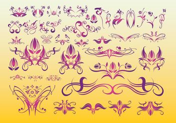 Floral Tattoo Art - vector #154987 gratis