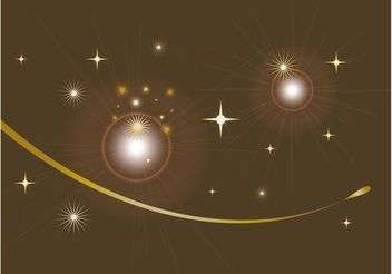 Sparkling Background Design - vector gratuit #155057