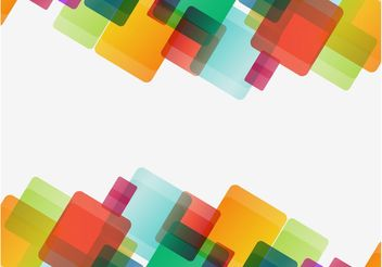Colorful Squares Graphics - Free vector #155287