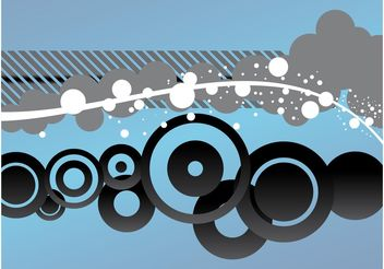Abstract Vector Decorations - Free vector #155347