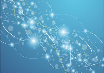 Blue Lights Background - Free vector #155367