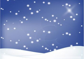 Winter Snow Design - vector gratuit #155397