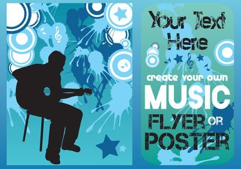 Music Concert Vector Template - Kostenloses vector #155427