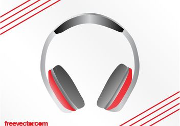 Headphones Vector Graphics - vector gratuit #155587