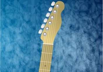 Guitar Background - vector gratuit #155757