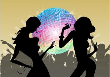 Disco Design - Free vector #155827