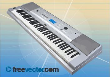 Synthesizer Graphics - vector gratuit #155957