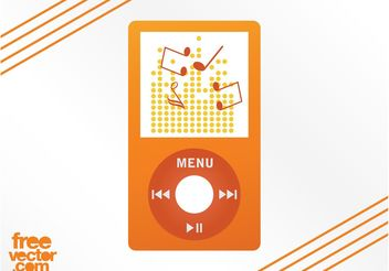 iPod Graphics - vector gratuit #156157