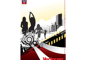 Nightlife Vector - vector #156227 gratis