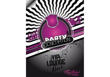 Free Party Flyer Background - Free vector #156507