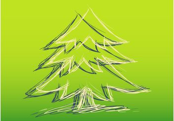 Christmas Sketch - vector gratuit #156717