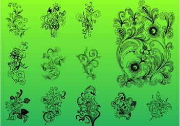 Vector Flower Pack - Kostenloses vector #157017
