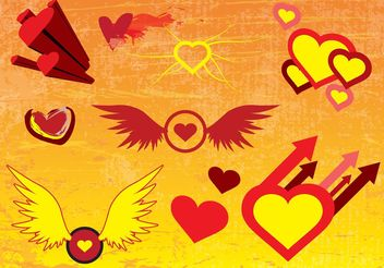 Free Vector Heart Images - Free vector #157417