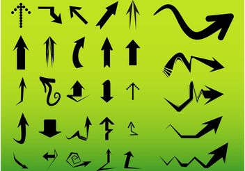 Arrows Vectors - Free vector #157507