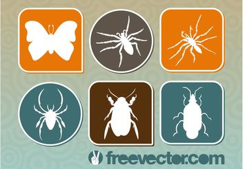 Bugs Graphics - Free vector #157597