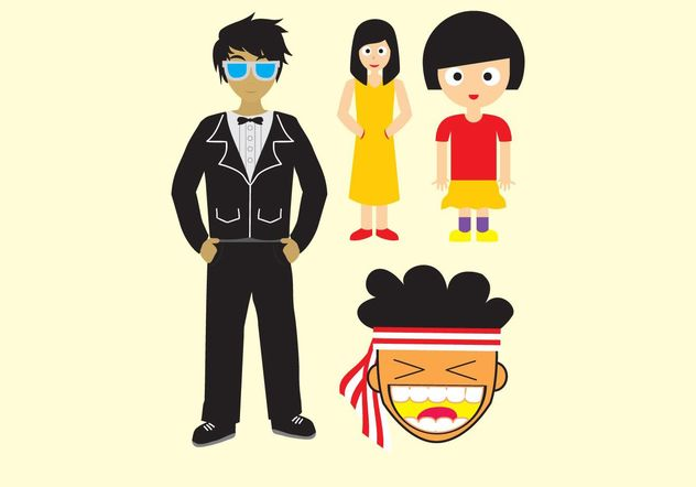 Some People - Free vector #157897