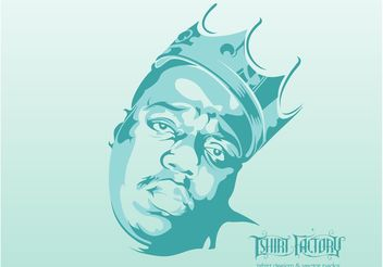 Notorious BIG - vector gratuit #158557