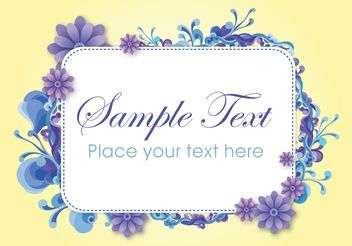 Vector Text Banner - Free vector #158727