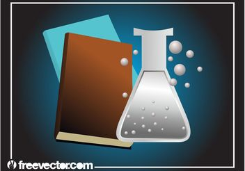 Chemistry Books Layout - бесплатный vector #158907
