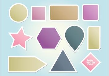 Vector Shapes - Kostenloses vector #159087