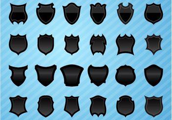 Shields Graphics Pack - Free vector #159157