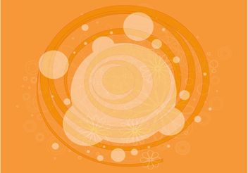 Circles And Flowers - бесплатный vector #159257