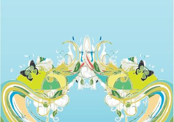 Abstract Spring - vector #159307 gratis
