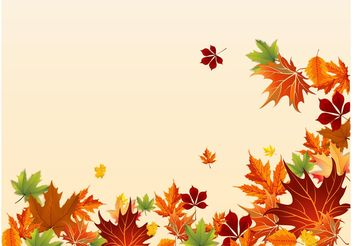 Fall Footage - Free vector #159347