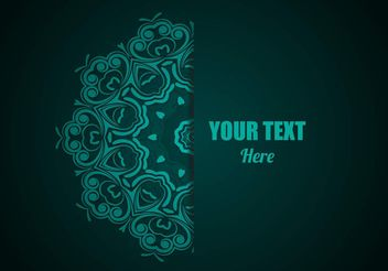 Free Lace Ornament Vector - vector #159477 gratis