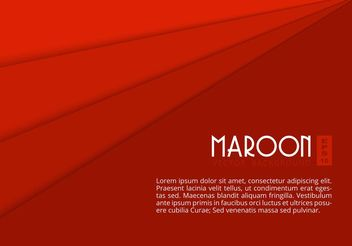 Free Maroon Paper Layers Vector Background - бесплатный vector #159487