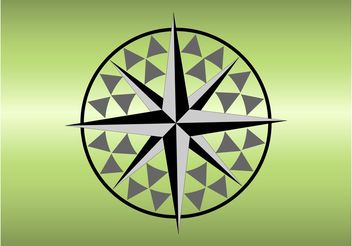 Compass Rose - vector gratuit #159747